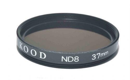 37mm High Quality Kood ND8 Optical Glass Filter Made in Japan 3 Stop Filter